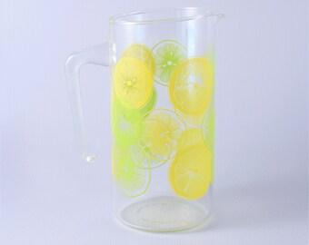 Pyrex Lemon Lime Pitcher