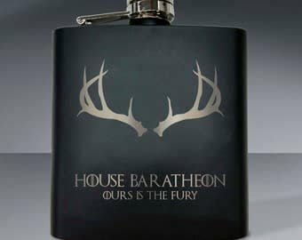 Game of Thrones - House Baratheon 6oz Flask