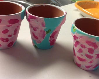 Lilly Inspired First Inpressions Votive Holders