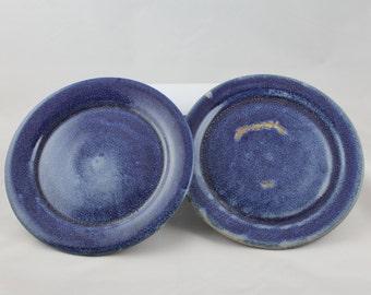 Ceramic Appetizer Plates - Set of 2