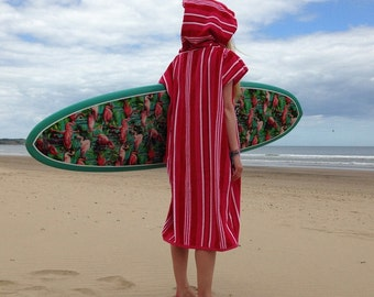 CoverUp Surf Changing Towel Pink Stripes