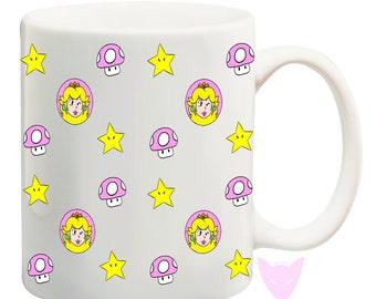 Peach Mug {Mario Bros.}