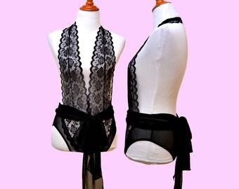 Black Valentine, Black lace bodysuit, Goth bodysuits, bridal  bodysuits, lady's lingerie, lady's lavish suit, seductive black suit