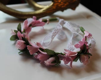 Flower crown || Hair accessories || Baby girl || Photo prop || Baby shower || Wedding headband || Gift for baby girl ||