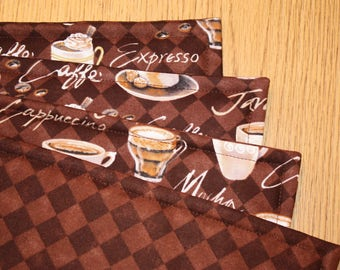 Placemats, Set of 4, Reversible  18 x  14