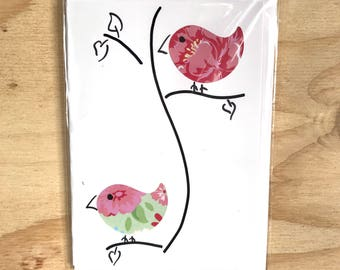 Handmade Greeting Card - Bird
