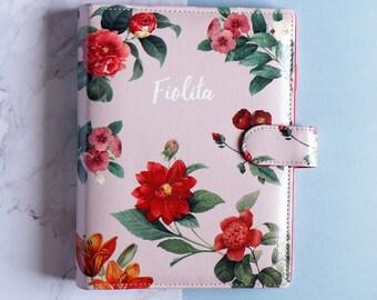Planner personalizzato, personalizzato Binder, Planner, Planner Binder, Wedding Planner, Personal Planner, Filofax personalizzato, regalo per la sorella, floreale