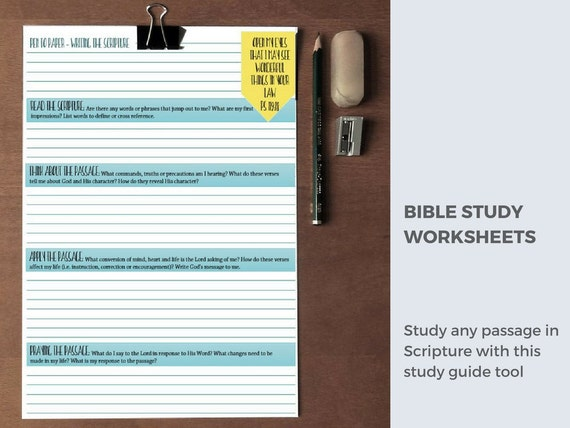 Bible Study Printable Bible worksheets Inductive Bible – Bible Study Worksheets