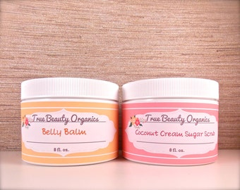 Balm & Sugar Scrub Duo (2x8 oz Jars)