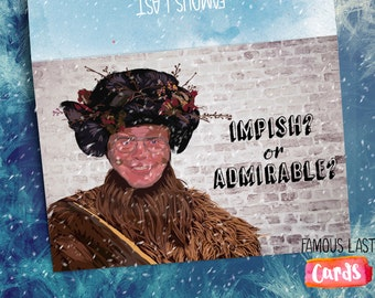 Dwight Schrute Christmas Card - The Office US Belsnickel - Impish or Admirable?