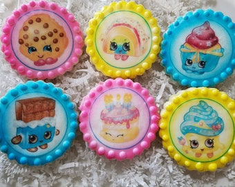 Shopkins Sugar Cookies