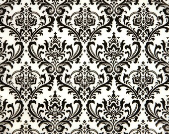 2 yards Premier Prints Madison Black-White