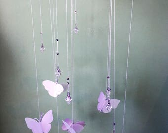 engagement party decoration wedding streamers butterfly mobile small wedding decor bridal table