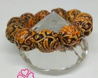 African pattern bracelet