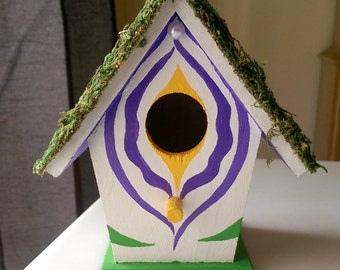 Birdbox \\ Floral Vagina Birdhouse \\ Calla Lilly