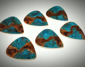 Khrys Cassiopeia Copper Guitar Picks