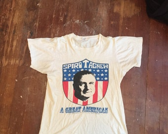 Vintage Spiro T Agnew Campaign Tee