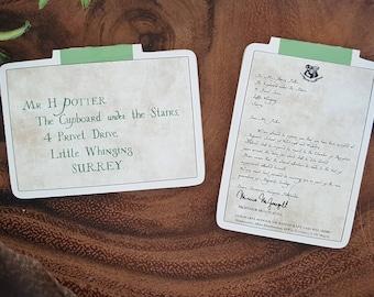 Hogwarts Acceptance Letter Mini Magnetic Bookmark Set
