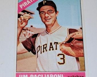 VINTAGE 1965 Topps Baseball Jim Pagliatoni Pittsburgh Pirates Gd-Vg