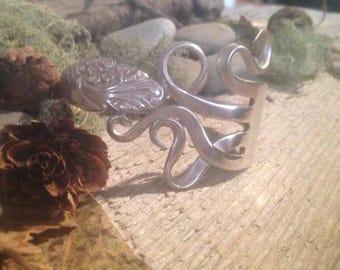 Fork Bracelet - Silverware Jewelry - Silverware Bracelet - Evening Star - Fork Jewelry - Spoon Jewelry - Unique Bracelet - Statement Jewelry