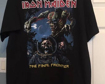 Iron Maiden! The final frontier