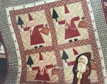 Bears Paw Designs Santa Claus pattern