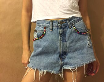 Festival Denim shorts