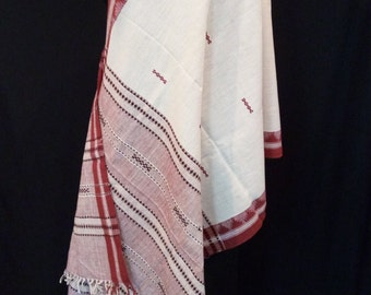 Naturally Dyed Dongoria Tribal Wrap