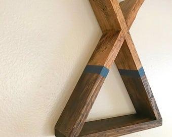 Teepee Shelf | Tribal Shelf | Tipi Shelf | Woodland Nursery | Wood Teepee | Wood Shelf