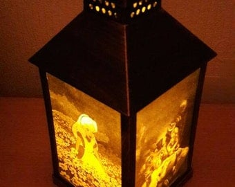 Disney Alice in Wonderland Lantern