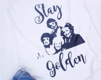 Golden Girls Tank Top - Golden Girls Stay Golden