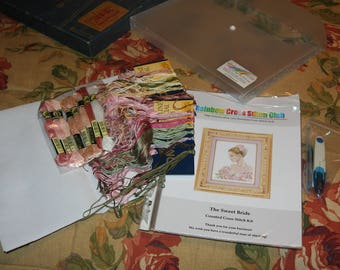 Homemade Cross stitch kit by Rainbow Cross Stitch Club