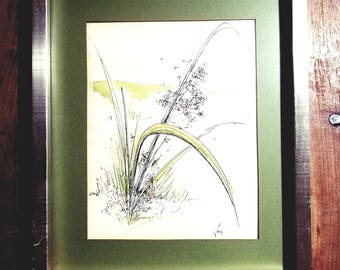 Marg Bowen signed Watercolor Painting
