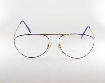 Chai P3 F87 55-16 Vintage Frames Vintage Eyewear Designer Eyewear