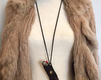 Boho / Gypsy / Hippie/ Festival / Lighter Necklace