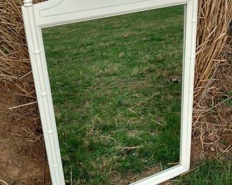 Heirloom White Mirror