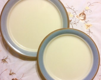 8pc Corning Vintage Corelle Plate Set in 'Skyscape'