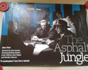 Asphalt Jungle Re-Release Poster