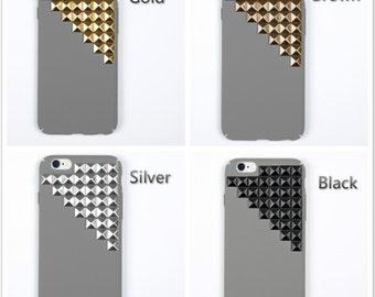 studded iPhone 7 case iPhone 7 plus case iPhone 6 plus case  iPhone 6/6s case iPhone SE case grey case