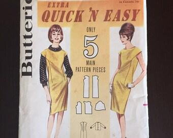 Vintage Butterick 1960's pattern
