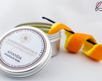 Ananda (orange & vanilla massage bar)