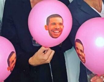 Drake balloons Valentines Day