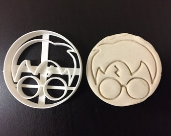 Harry Potter round face Biscuit Cookie Cutter Fondant Cake Decorating Mold