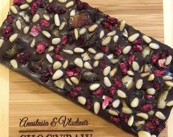 All right now - Raw Vegan Sugar Free Dark Chocolate