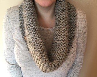 READY TO SHIP Hand knit cowl