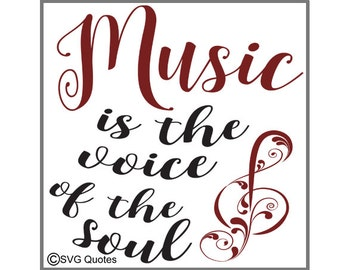 Music is  SVG DXF EPS Cutting File For Cricut Explore, Silhouette & More. Instant Download. Personal and Commercial Use.Printable. Vinyl.