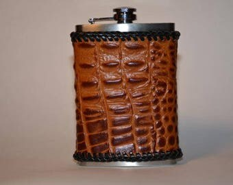 Gator Covered Stainless Steel Flask