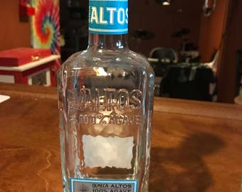Alto Tequila Bottle Lamp