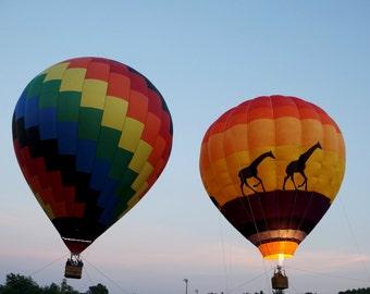 Balloon Ride at Dusk