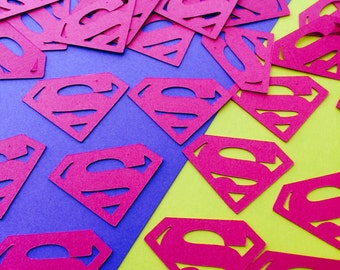 Superman Inspired Logo Confetti (100pcs)